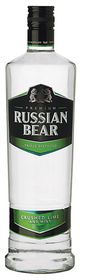Russian Bear - Crushed Lime With Mint Vodka - 6 x 750ml