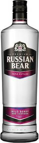 Russian Bear - Wild Berry With Guarana Vodka Case - 6 x 750ml