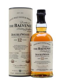 The Balvenie - 12 Year Old Double wood Single Malt Whisky - 750ml