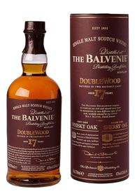 The Balvenie - 17 Year Old Double wood Single Malt Whisky -  750ml