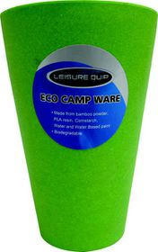 LeisureQuip - Biodegradable Bamboo Tumbler - Green