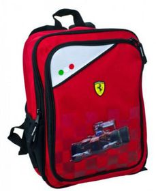 Ferrari Car Primary Small Backpack