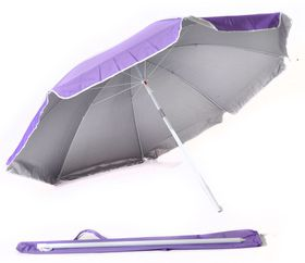 St Umbrella - Beach Umbrella - Purple
