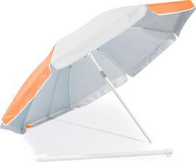 St Umbrella - Beach Umbrella - Orange and White