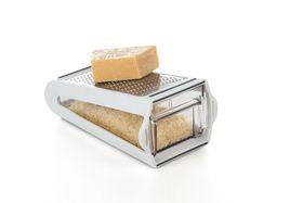 Progressive Kitchenware - 2W Grate and Measure - White