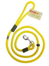 Kunduchi Comfort Clip Lead - Yellow 1.6m