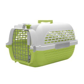 Dogit - Voyageur Dog Carrier - Green & White - Medium