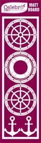 Celebr8 Matt Board Lanki - Nautical Elements