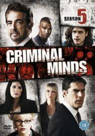 Criminal Minds Series 5 (DVD)