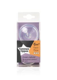 Tommee Tippee - Advanced Comfort Fast Flow Teat