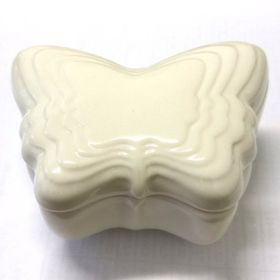 Pamper Hamper Ceramic Butterfly Trinket Box