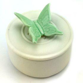 Pamper Hamper - Butterfly Trinket Box- Teal