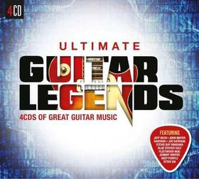Ultimate...Guitar Legends - Various Artists (CD)