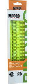 Meeco 12mm Binding Elements 25s - Green