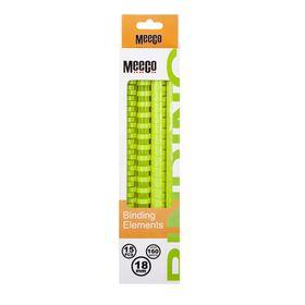 Meeco 18mm Binding Elements 15s - Green