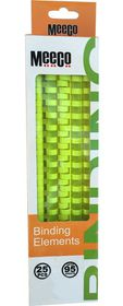 Meeco 22mm Binding Elements 10s - Green