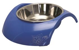Rogz - 2-in-1 Luna Blue Dog Bowl - Large