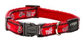 Rogz Fancy Dress Red Rogz Bone Dog Collar - Small