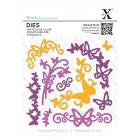 Xcut Dies - Butterfly Flourish (10 Pieces)