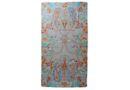 Iconic Design 100% Orange Paisley Design Silk Scarf