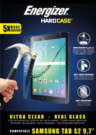 Energizer Tempered Glass Screen Protector for Galaxy Tab S2