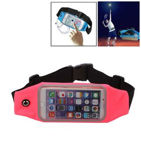 Tuff-Luv Waterproof Sports Runners Waist Bag Pouch for iPhone 6s - Pink