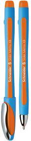 Schneider Slider Memo XB Ballpoint Pen - Orange Ink