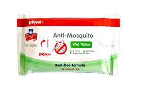 Pigeon - Anti-Mosquito Wipes - 12 Piece