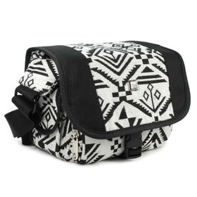 Tuff-Luv Navajo Range Toploader Camera Bag Black/White