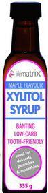 Lifematrix Xylitol Syrup Maple Flavour - 335g
