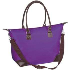 Eco Ladies Trendy Overnight Bag - Purple