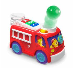 Bright Starts - Having A Ball - Roll n Pop Fire Truck