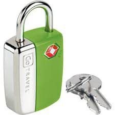Go Travel TSA Key Lock - Green
