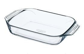 Pyrex - Optimum Glass Rectangular Roasters - 3.8 Litre