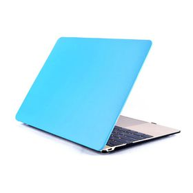 "Astrum Laptop Shell Mac 12"" Leather Light Blue - LS230"