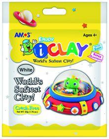 Amos iClay 50g Packet - White