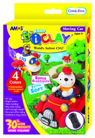 Amos iClay Moving Car Kit
