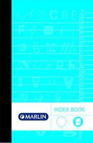 Marlin 2-Quire 192 Page A4 Counter Index Book (5 Pack)