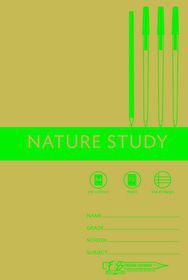 Freedom Stationery 72 Page A4 I&M Nature Study Book