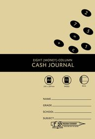 Freedom Stationery 72 Page A4 8MC Cash Journal (20 Pack)