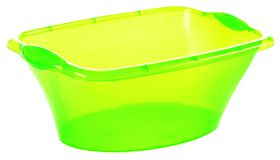 Addis - Green Rectangular Basin - 17 Litre