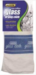Addis - Microfiber Glass Drying Up Cloth
