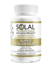 Solal Colostrum Super 500mg - 120s
