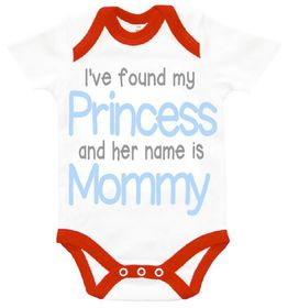 The Funky Shop - I found my princess and her name is Mommy Baby Grow