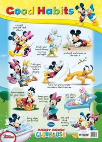 Butterfly Wallchart - Mickey Mouse Good Habits