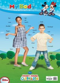 Butterfly Wallchart - Mickey Mouse My Body