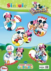 Butterfly Wallchart - Mickey Mouse Sintuie