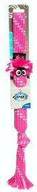 Rogz Scrubz Large 540mm Oral Care Dog Toy - Pink
