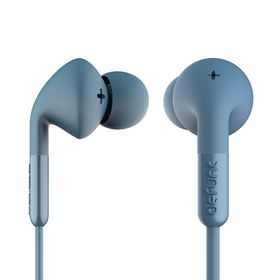 De Func +Music Earphones - Blue