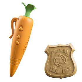 Zootopia Judy's Carrot Recorder & Badge